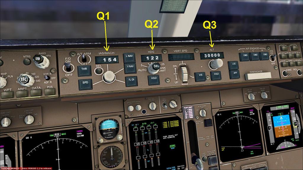 b747 400 basic fmc and mcp preflight setup guide by hyppthe on rh deviantart com Korean Air B747-400 B747- 300