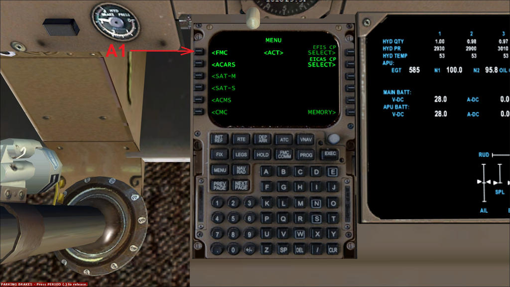 b747 400 basic fmc and mcp preflight setup guide by hyppthe on rh deviantart com B747-400 Cargo China Airlines Boeing 747- 400