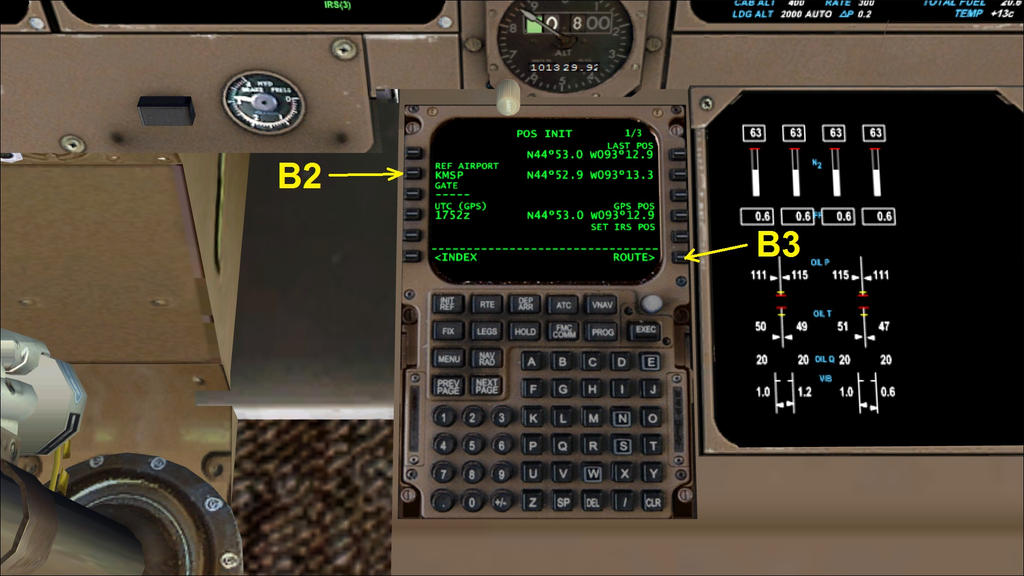 b747 400 basic fmc and mcp preflight setup guide by hyppthe on rh deviantart com B747- 300 China Airlines Boeing 747- 400