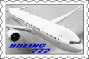 Boeing 777 Stamp by HYPPthe
