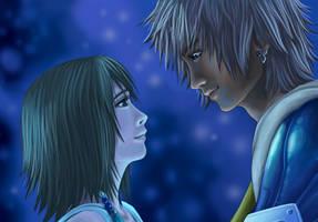 Tidus and Yuna by Serah-Farron
