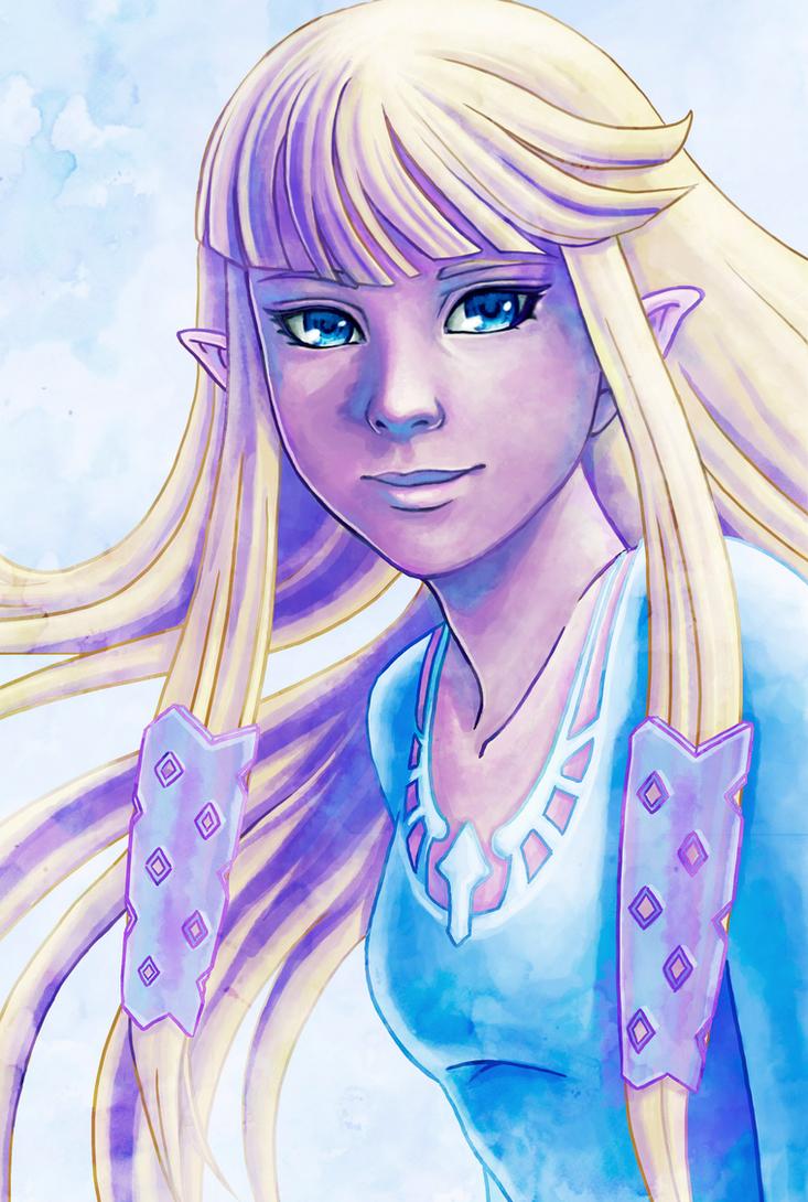 Zelda Skyward Sword by Serah-Farron