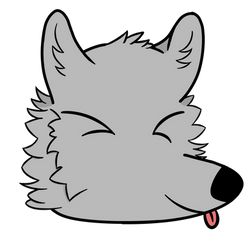 My sona headshot (requested) by SweetyPoke