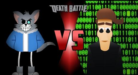 Death Battle Tom Sans vs Hugh Neo by jtgp-of-art