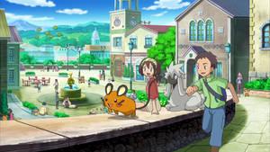 Pokemon- Perfect day in Kalos