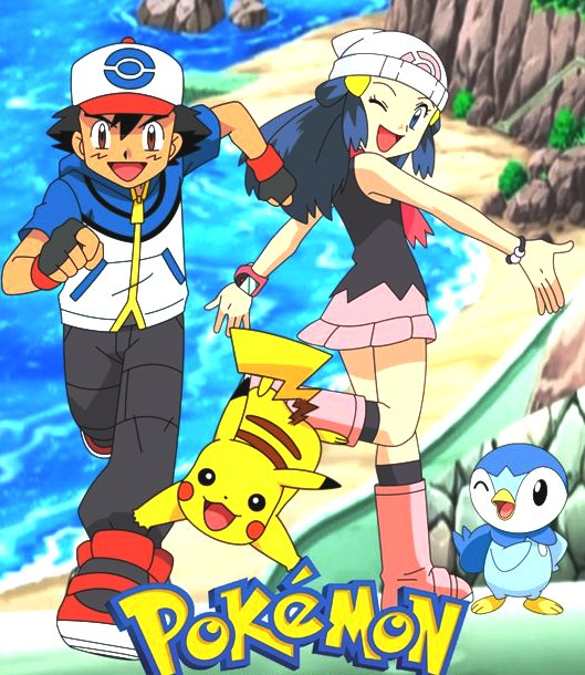 Pokemon Dawn: Ash Ketchum And Misty May