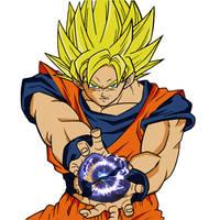 Goku by Chunky-Ball-Z
