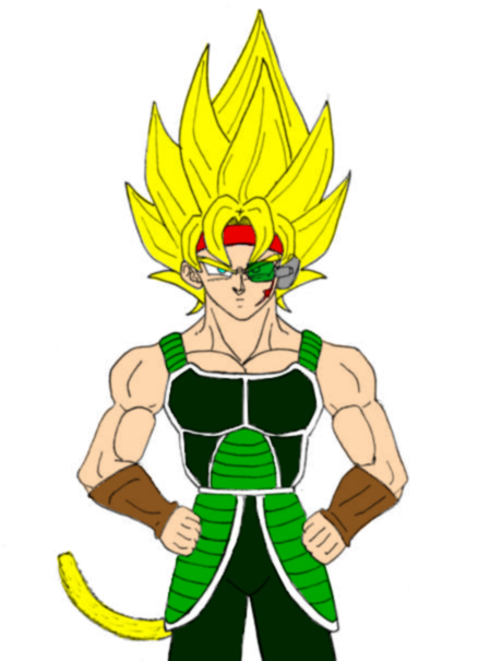 Super Saiyan Bardock by Chunky-Ball-Z on deviantART