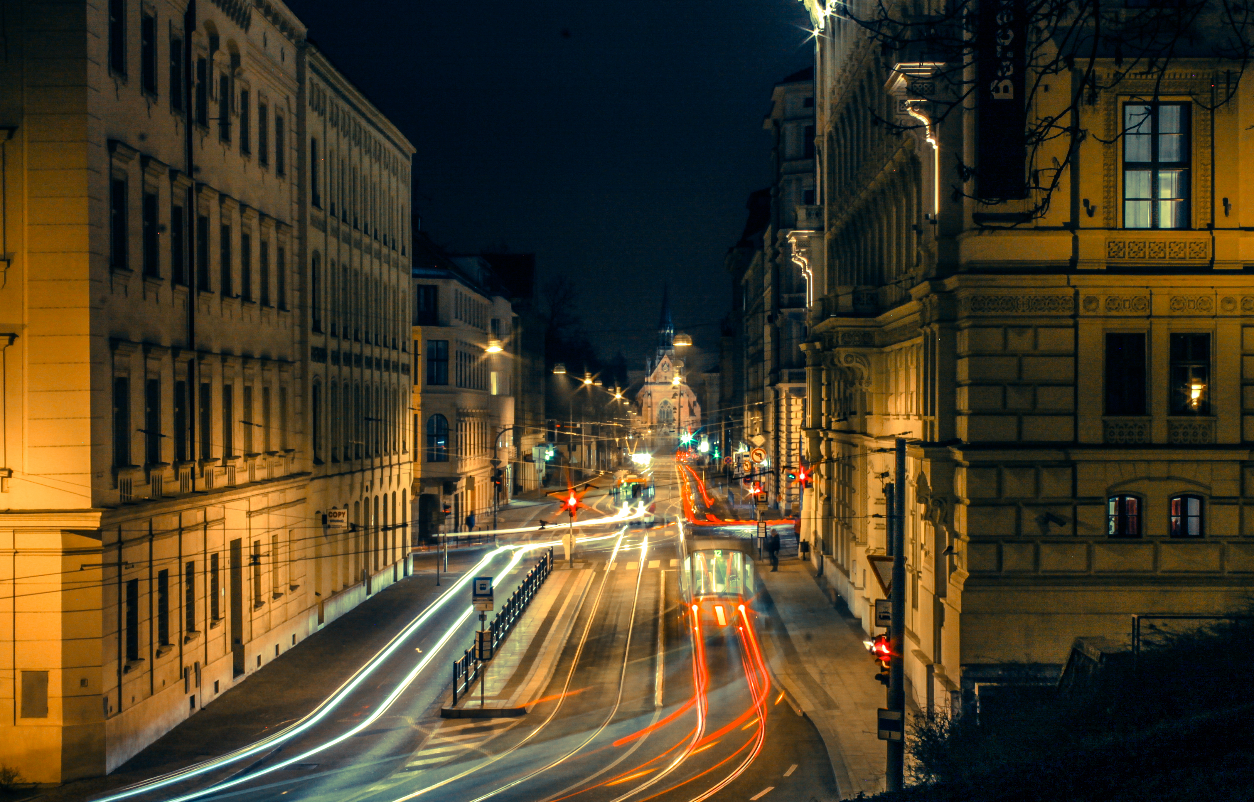 Brno in motion by Redjkeee