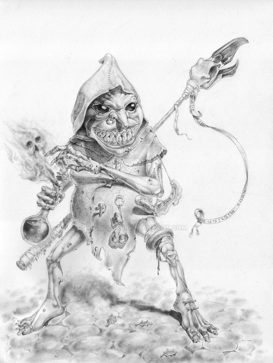 Gobblin Sorcerer by Gollorr