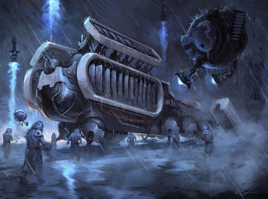 War ship by Gollorr