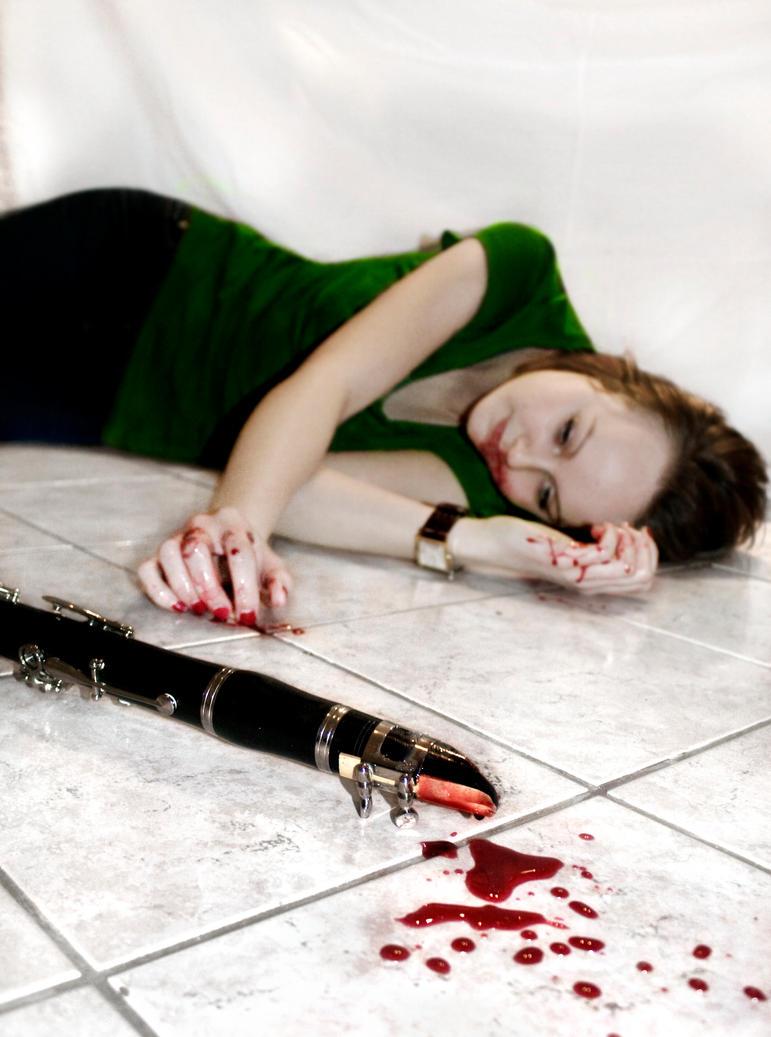 Clarinet Murder By Dybing