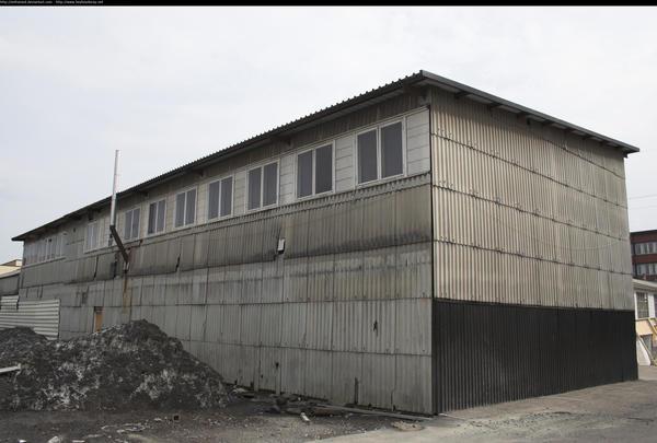 Old shack by enframed