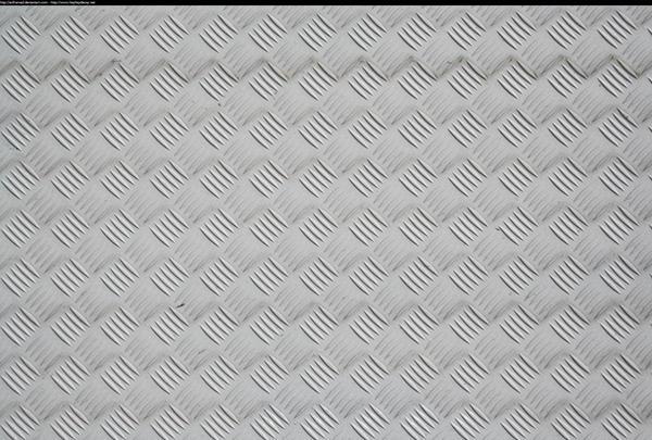 White diamond plate by enframed