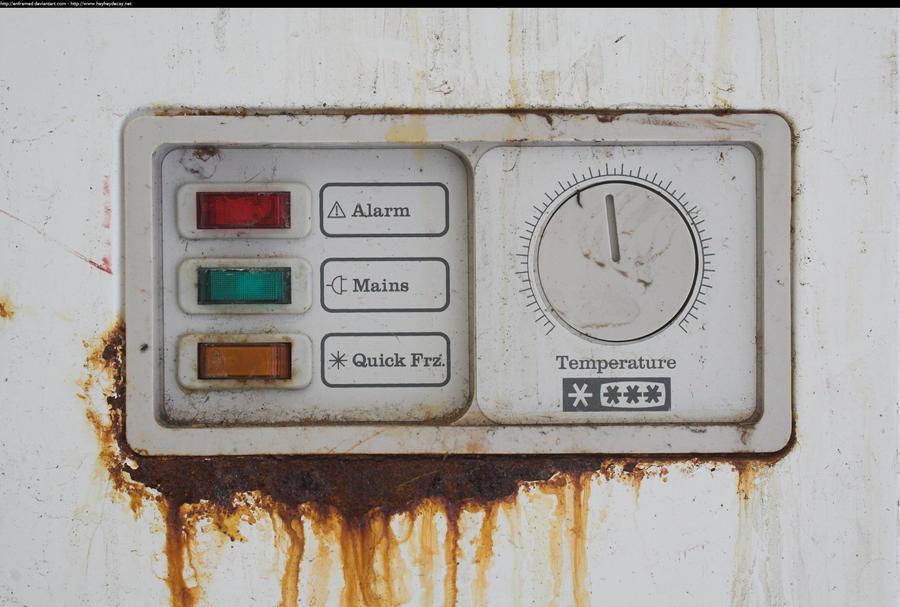 Freezer control panel by enframed