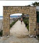 Stone gate or portal