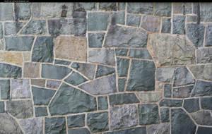 A wall at a church by enframed