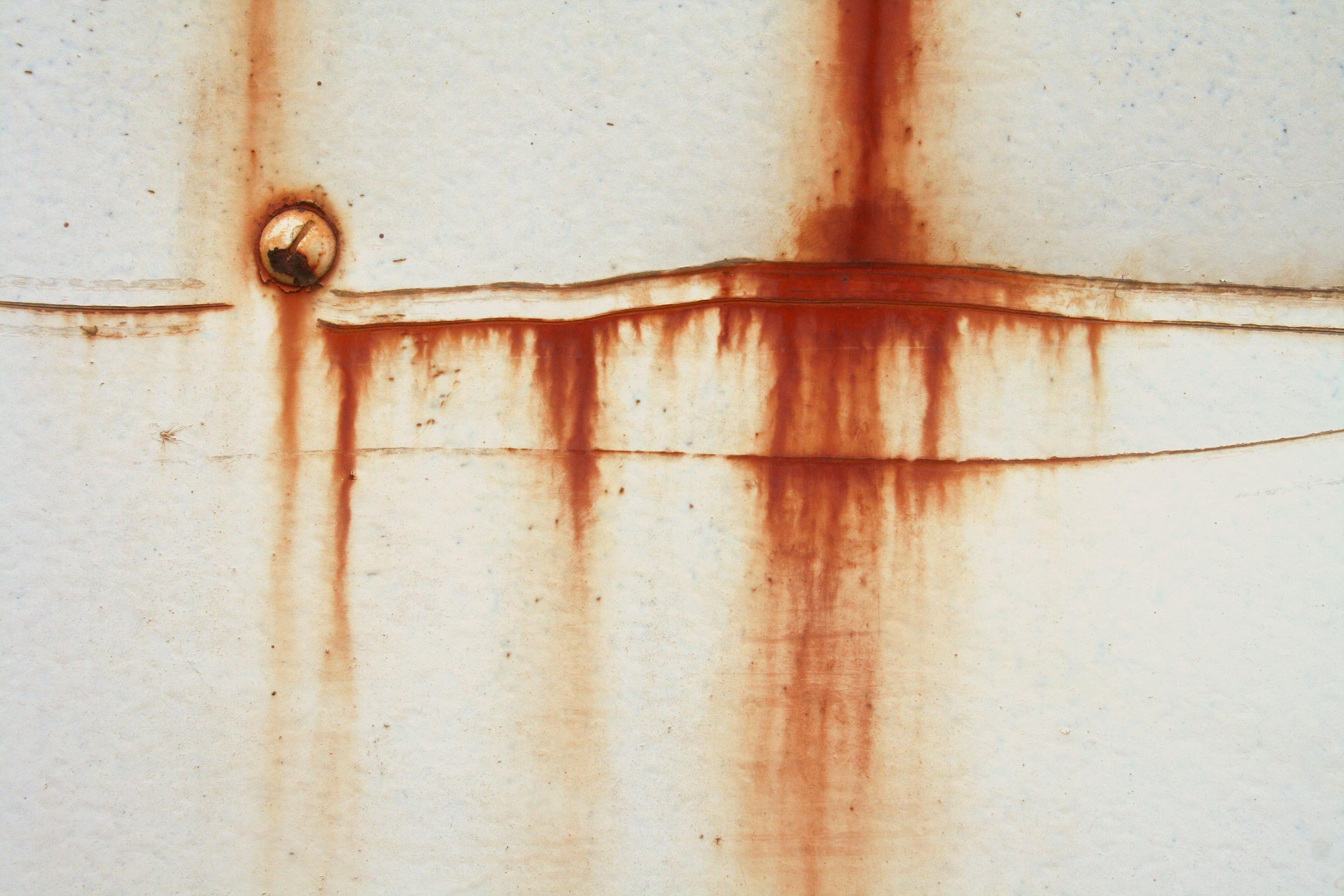 White rust texture