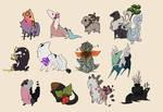 Requesks Batch 03 - doodles