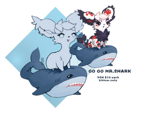YCH-Go Go Mr.Shark($10)