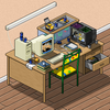 my desk v 2.0 by worm-xp