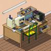 my desk v 2.0 by worm-xp