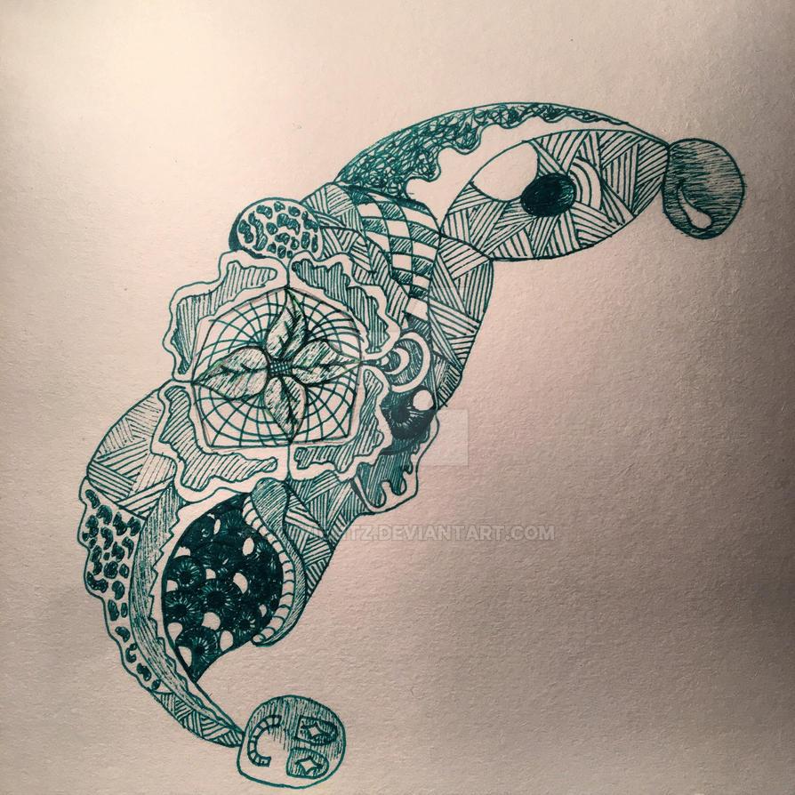 Green Tangle by StevieMtz