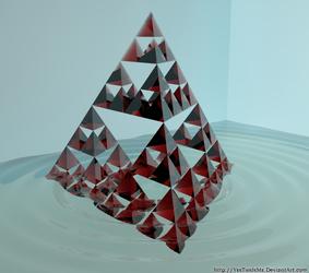 Sierpinski Pyramid by YesThisIsMe