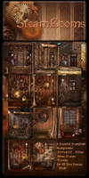 SteamPunk Rooms backgrounds