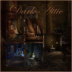 Dark Attic pack by moonchild-lj-stock