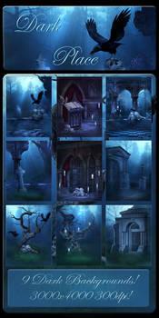 Dark Place backgrounds by moonchild-lj-stock
