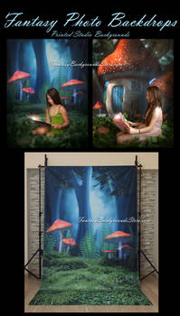 Printed Studio Backgrounds