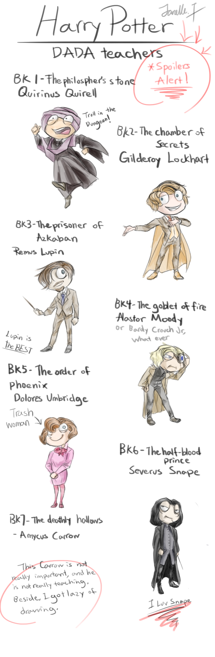 Harry Potter Poptropica Version-DADA teachers