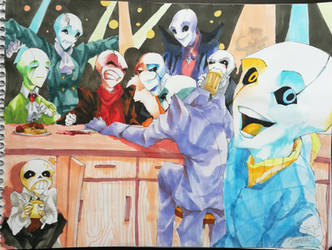 Gaster Pub by SmileyFaceOrg
