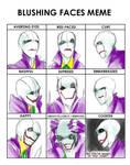 Joker Gaster Blushing Meme(Not really)