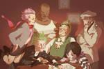 Commission-The superpower villainssssss!