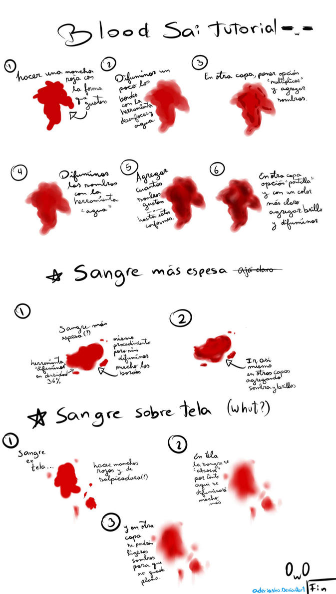 tutorial de sangre en sai by aderiasha on deviantart