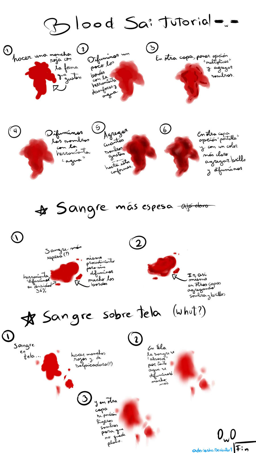 tutorial de sangre en sai by aderiasha on deviantart