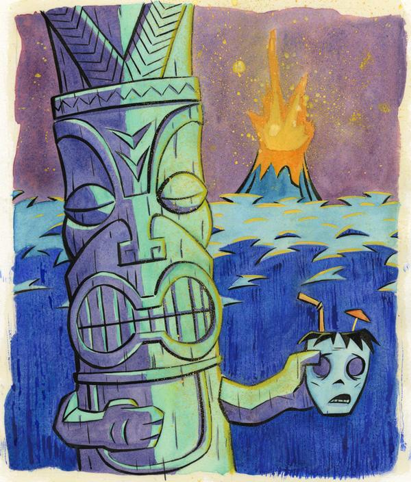 The Tiki's Mug by Phostex