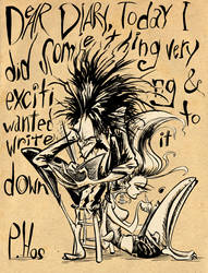Dear Diary by Phostex