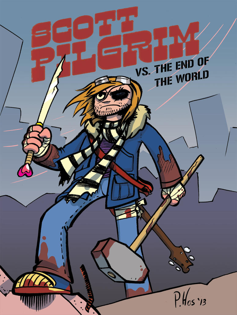 Scott Pilgrim Vs The End of the World by Phostex