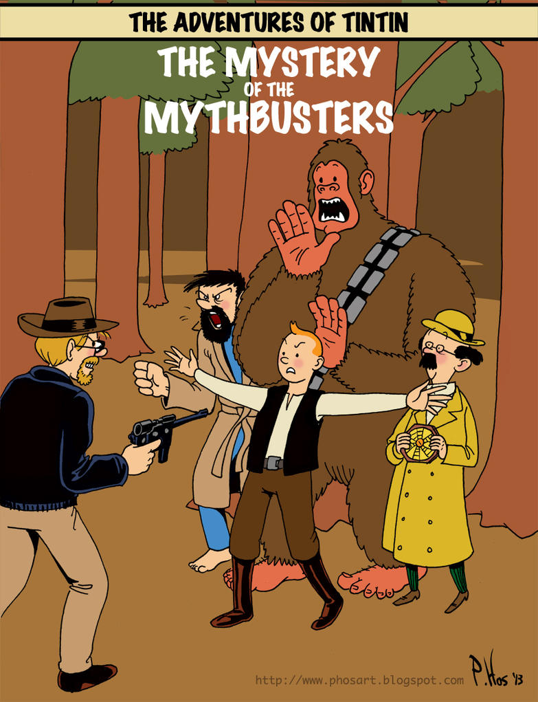 Tintin Meets Bigfoot by Phostex