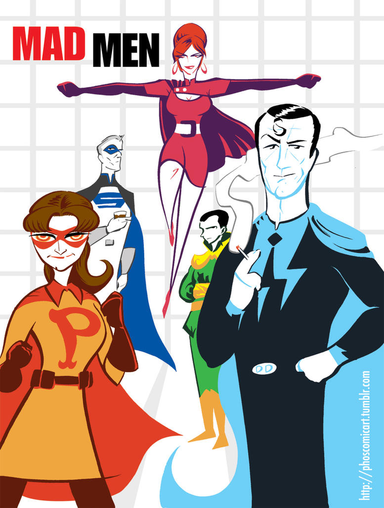 The Amazing Madmen by Phostex