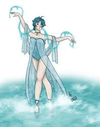 Old Princess Tutu OC Redesign: Princess Aqua