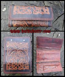 Viking woman wallet by Huldukottr