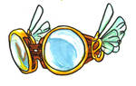 Fin Ship Set- Goggles