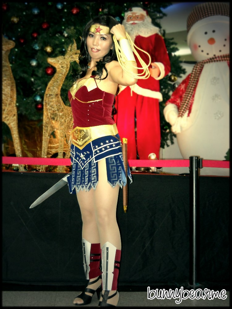Me as Wonder Woman by bunnybearme