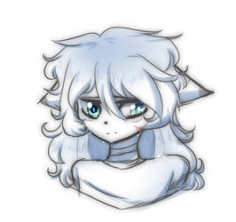 Little sad Mika (Read description!!!) by PurpleEmerald19