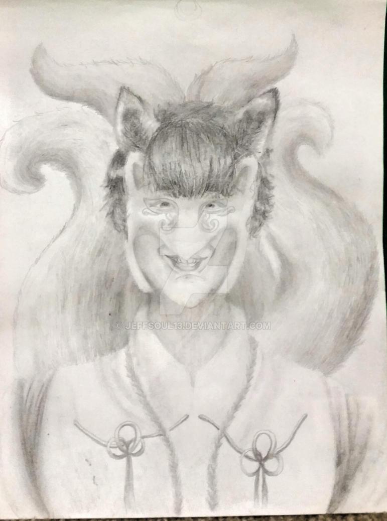 Kitsune oc for Wojumi by Jeffsoul13