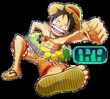 Luffy Render by Kaso1907